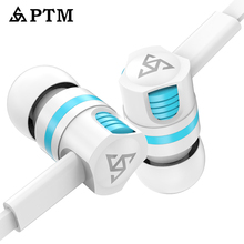 Professional HRH JM26 Brand Earphone Super Bass Headset Earbuds Earpods Airpods with Microphone for Mobile Phone Xiaomi iPhone ptm earphone original s27 headphone brand headset with microphone earbuds for earpods airpods