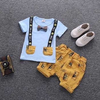 Cartoon Kids Cotton Clothing Set 2