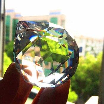 4 шт. Бесплатная доставка 60 мм K9 хрустальный граненый шар, хрустальная люстра подвески для свадьбы и продукты феншуй, украшение для X-MAS