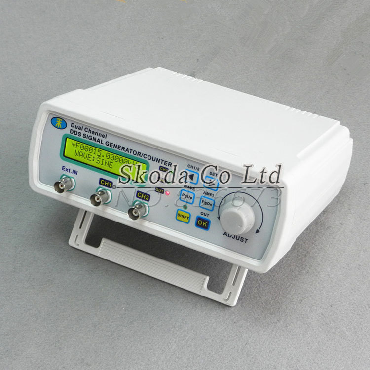 Free shipping MHS -3200A dual-channel NC function DDS signal generator counter, DDS signal source, frequency meter 6MHz free shipping mhs 3200a 12mhz dds nc dual channel function signal generator dds signal source 4 kinds of waveform output