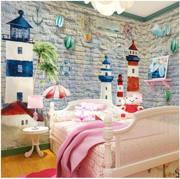Aliexpress.com : Buy Carton Mural Wallpapers Custom Size