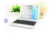 Ultra Slim Russian Hebrew Spanish Wireless Bluetooth Keyboard Dock Cover Case Stand Holder For Apple IPad