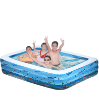 Baby child adult swimming pool ocean ball pool baby super large inflatable bathtub