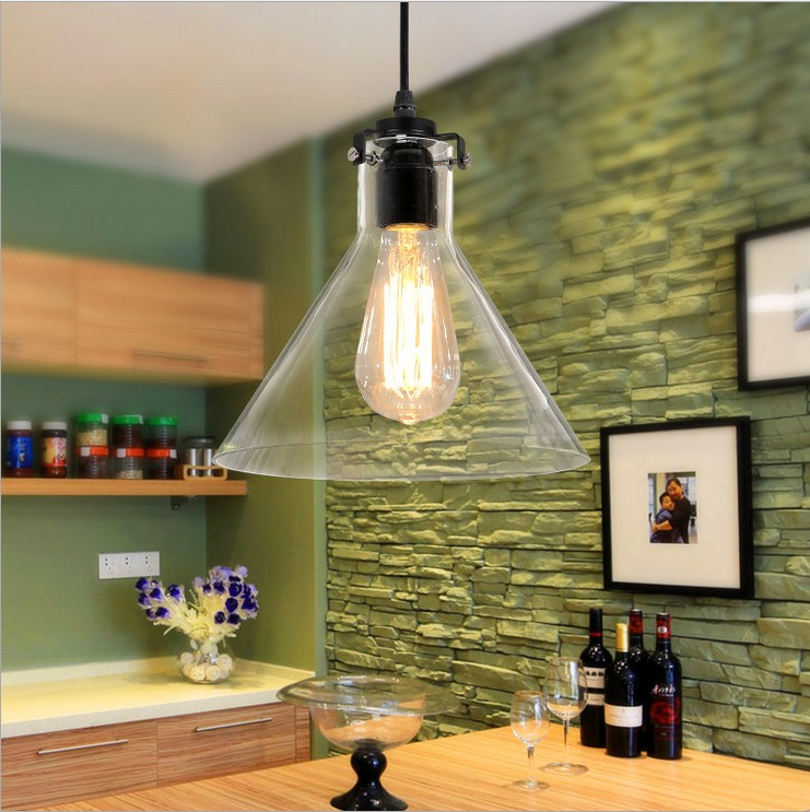 European-style minimalist personality study small terrace restaurant Cafe hotel bar funnel crystal pedant lamp free shipping living room european style minimalist personality study innovative small terrace restaurant cafe funnel crystal chandelier lamp