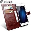 Meizu m3s m3 mini case capa original tomkas pu carteira de couro suporte flip phone bag capa case para meizu m3s mini m3 Mini