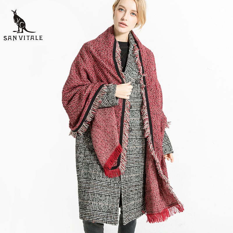 Scarves For Women Scarf Gift Cape Skull Designer Winter Casual Clothing Accessories Apparel Clothing Winter Warm Luxury Brand