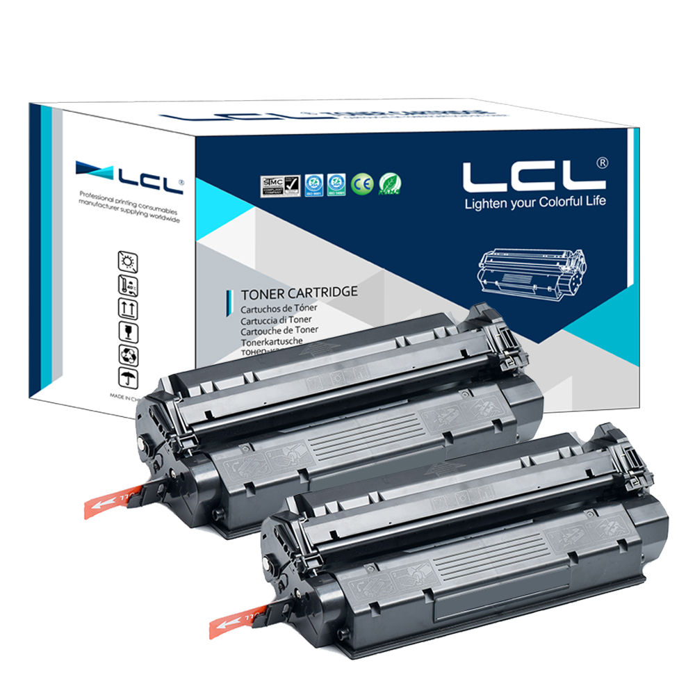 LCL EP-25  EP25 EP 25 (2-Pack) Black 2500 pages  Compatible Laser Toner cartridge for Canon LBP 1210 shipping from Russian