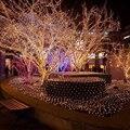Árvore de luz Led luzes Da Corda 100 Leds com UE/EUA Plug para Casa pátio Garden Party Do Feriado da árvore de Natal decoração Lanterna W