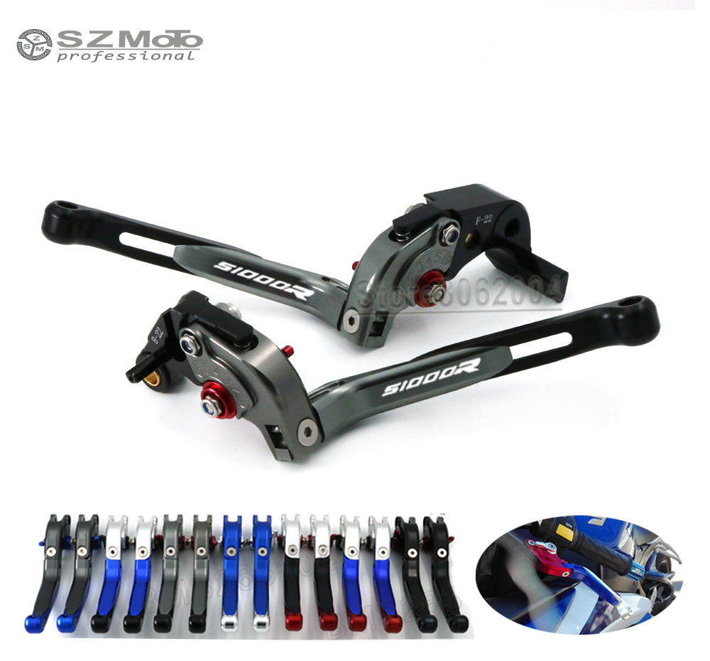For BMW S1000R S1000 R 2014-2018 Aluminum Motorcycle Accessories Folding Extendable Adjustable Brakes Clutch Levers CNCFor BMW S1000R S1000 R 2014-2018 Aluminum Motorcycle Accessories Folding Extendable Adjustable Brakes Clutch Levers CNC