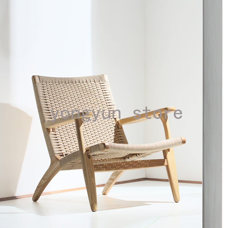 Living Room Furniture Chair ash solid wood Minimalist ...