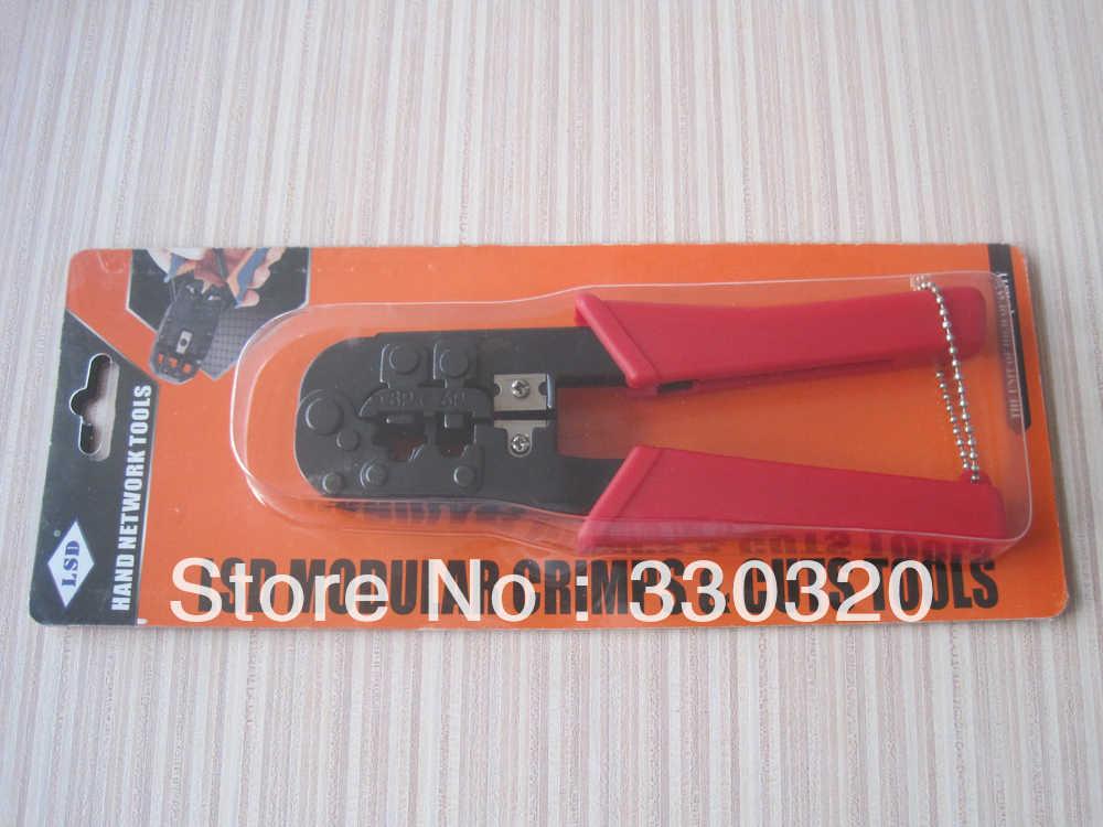 شبكة معدات الكمبيوتر الشبكات LS-568 RJ11/12 RJ45