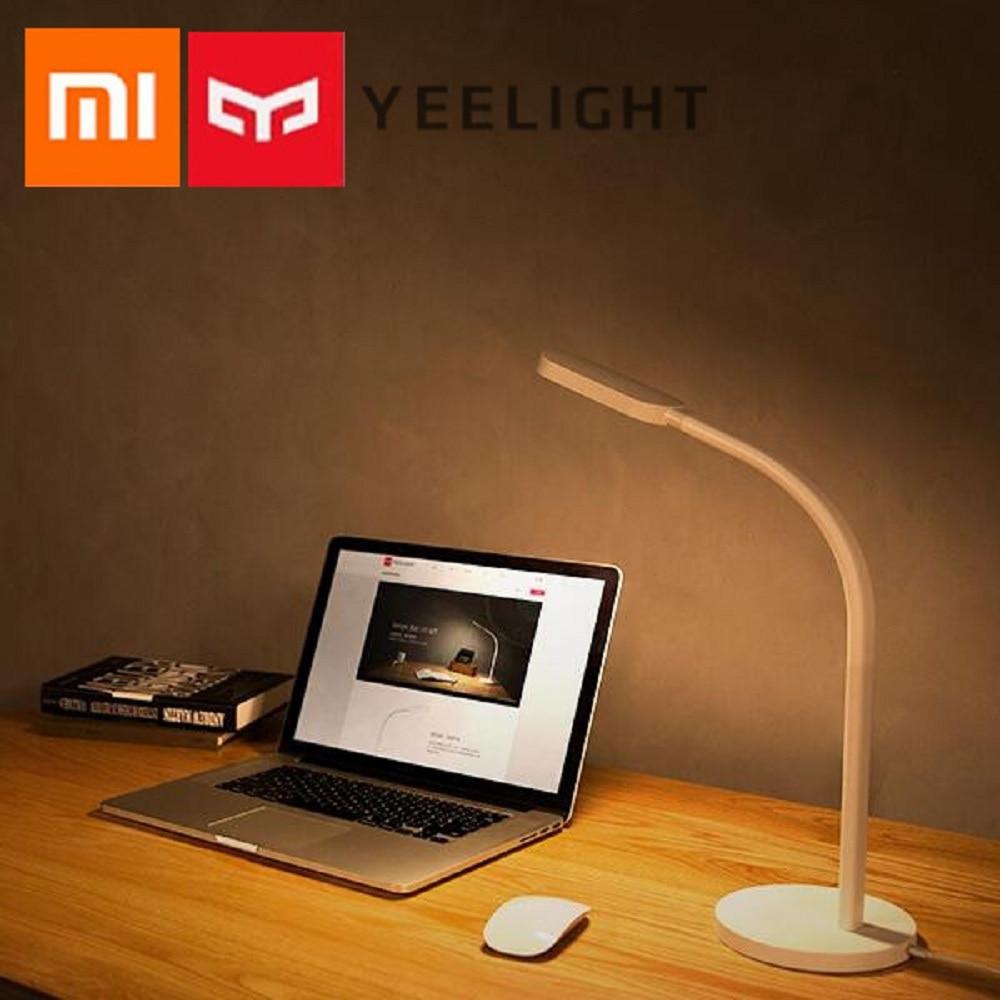 Xiaomi Yeelight YLTD02YL LED Light 260Lm 2700 - 6500K Brightness and Color Temperature 5-mode Adjustable LED Table Light настольный led светильник xiaomi yeelight portable led lamp yltd02yl