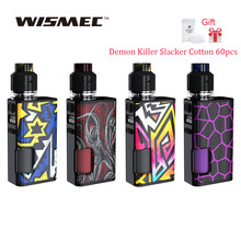 Gift!!! Original WISMEC Luxotic Surface 80W Squonk TC Kit 2ml/4ml Kestrel Tank Ecig Vape Kit VS Luxotic BF Box Kit /LUXE