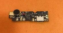 """Usato Originale del Caricatore del USB Board + di vibrazione del motore per Blackview P6000 Helio P25 Octa Core 5.5 """"FHD Trasporto libero"""