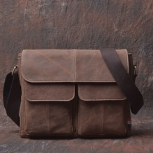 Fashion Men's Briefcase Bags Brand Genuine Leather Briefcase Bag Famous Designer Breifcases Cow Leather Laptop Business Bags