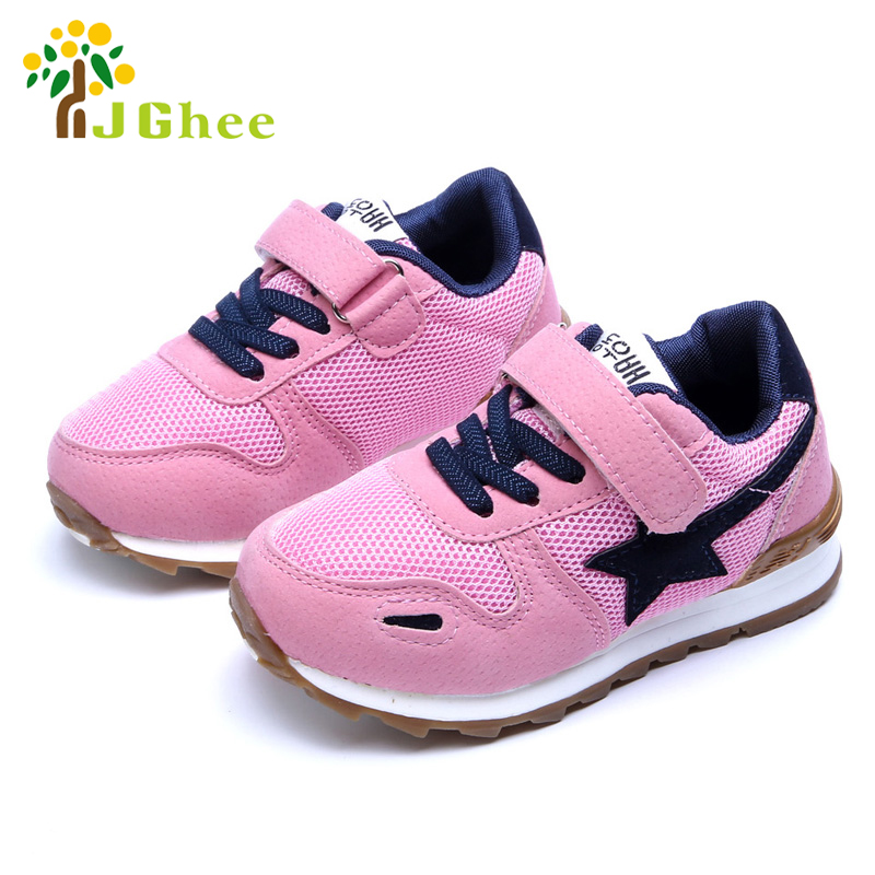 Spring Kids Sports Shoes Childrens Running Shoes For Boys Girls Breathable Soft Fashion Air Mesh Casual Sneakers 27-31