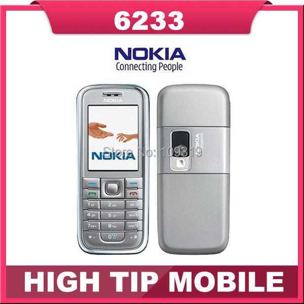6233 Original Nokia Unlocked 6233 cell phone bluetooth mp3