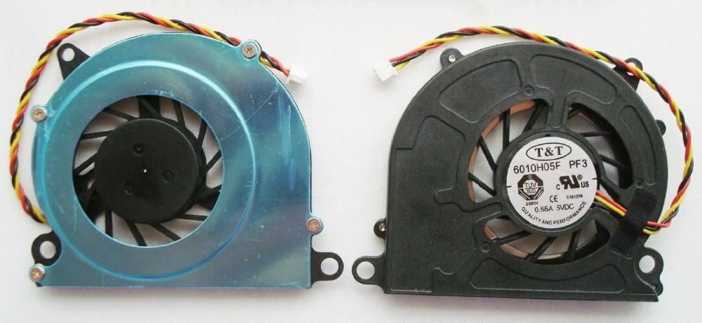 SSEA New Laptop CPU Cooling Cooler Fan For MSI Wind U100 U100X U110 U120 U120H U90 U90X U130 U135