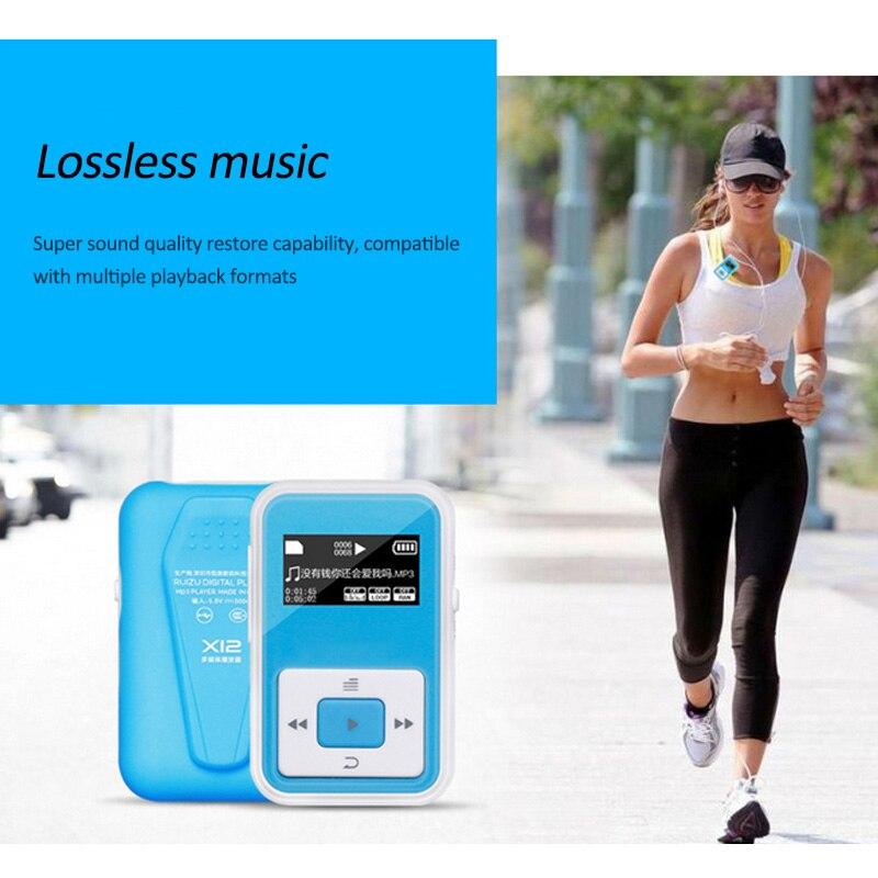 HIFI Lossless MP3 lejátszó FM felvevő funkció HIFI Sound 8GB - Hordozható audió és videó