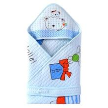 Multifunctional Newborn Baby Blanket Spring Autumn Swaddle Blanket Toddler Sleeping Bag Quilt Blanket Stroller Wrap
