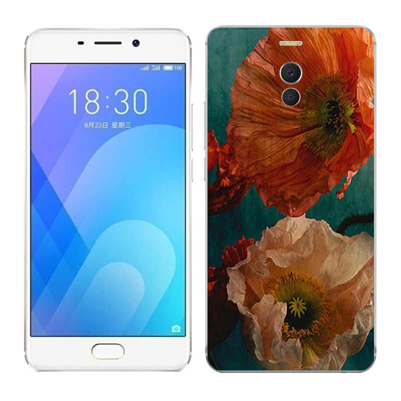 Fall Für Meizu M6 Hinweis/Blue Charm Hinweis 6 Note6 Weiche TPU silikon Handy Cover für Meizu M6 Hinweis Phantasie Gemalt Fundas Tasche