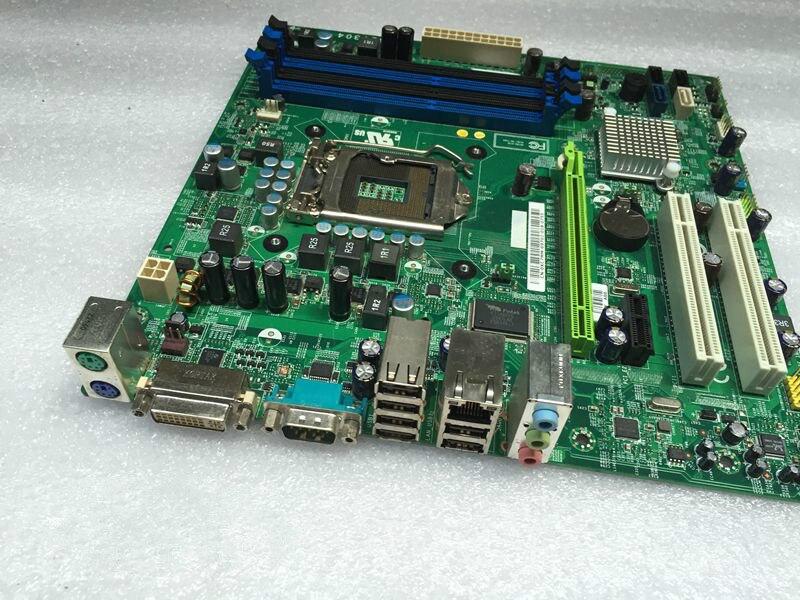 Utilisé, pour Dell Precision T1500 poste de travail carte mère H57 I5/I7 1156 0XC7MM