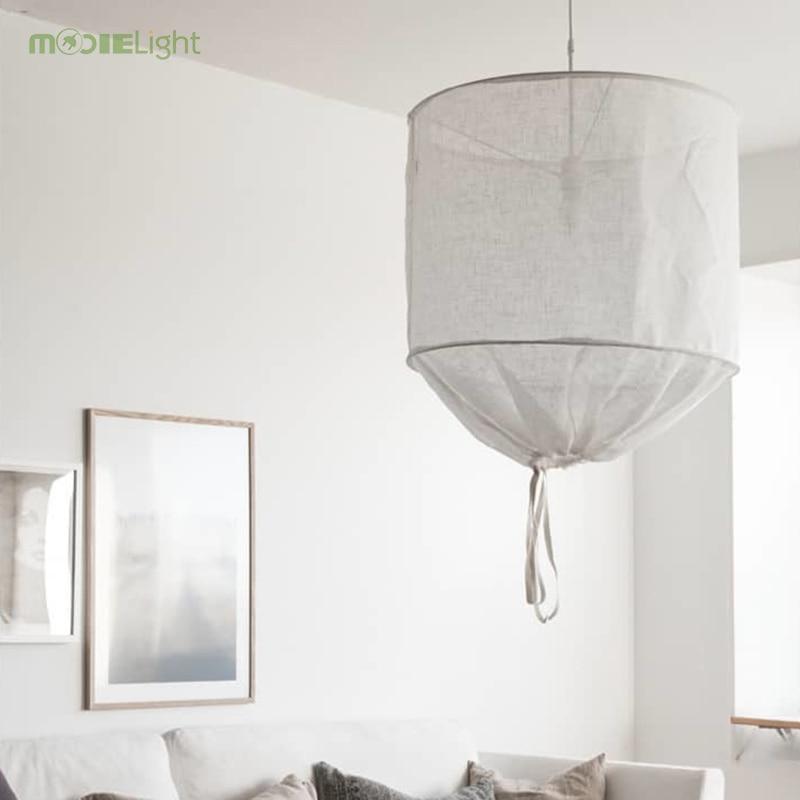 Cotton Diy Fabric Lampshade Led
