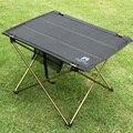 Acampar al aire libre Portable de la Aleación de Aluminio Mesas Mesa Mesa Plegable De Picnic Impermeable Durable Ultra-ligero 690g
