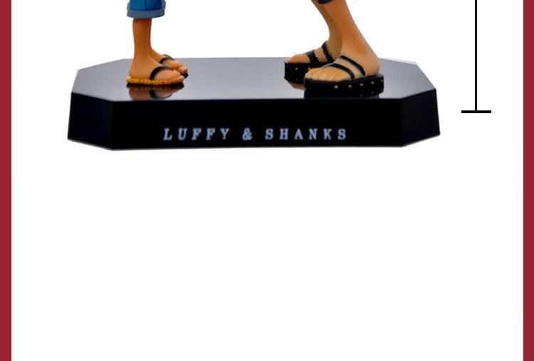 18 cm One Piece Figuras de Ação Anime Chapéu de Palha Luffy Luffy ... 32f527e4863