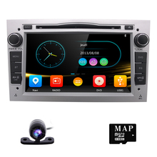 2 Din Car DVD Player For Opel Astra Vectra Antara Zafira Corsa GPS Navigation Radio Audio Video Bluetooth SWC DVB-T DAB rear CAM