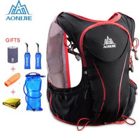 AONIJIE Trail Running Backpack Outdoor Sports Hiking Camping Backpack 5L Marathon Running Hydration Vest Pack For 1.5L Water Bag