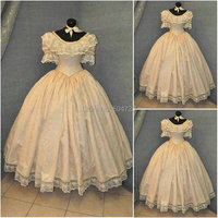 sc 627 Victorian Gothic/Civil War Southern Belle loose Ball Gown Dress Halloween Vintage dresses Custom made