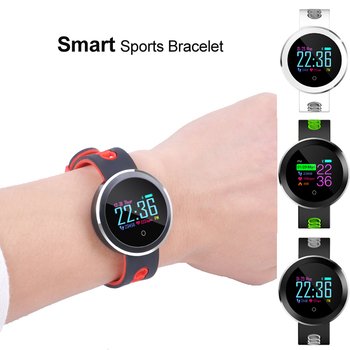 10pcs DHL Waterproof Sports Smart Band Bracelet Color OLED Screen Heart Rate/ Blood Pressure/Oxygen Monitor Fitness Tracker