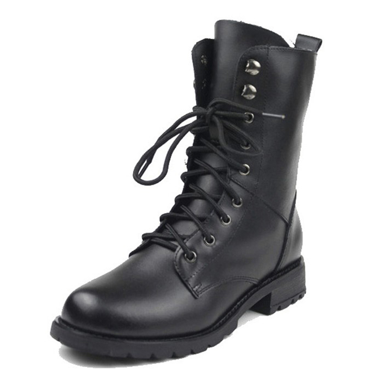 low price sale quality sale online Genuine leather martin boots female boots vintage fashion boots ...