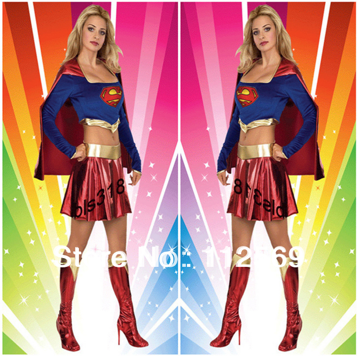 new womens christmas carnival costumes spandex superhero powerpuff girls costumed character ws147 in anime costumes from novelty special use on