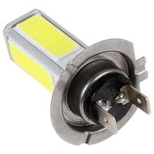 Фирменная НОВИНКА! 20 Вт H7 супер мощный COB светодиодный Белый Автомобильный светильник для вождения тумана/DRL