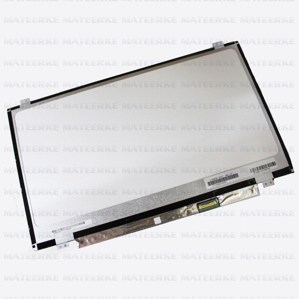 Free Shipping 14.0 LED screen LP140WH2 TPS1 LTN140AT31 N140BGE-EA2 N140BGE-E33 E43 B140XTN03.3 LP140WHU (TP) (A1) HB140WX1-501 inotec e33