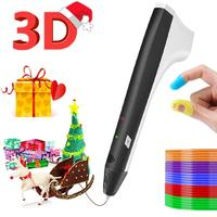 M1 SUNLU new 3D Pen with PLA Filament Refills 3D Printing Pen M1 Newest Version 3D Drawing Bonus 4 Color PLA ship by FBA