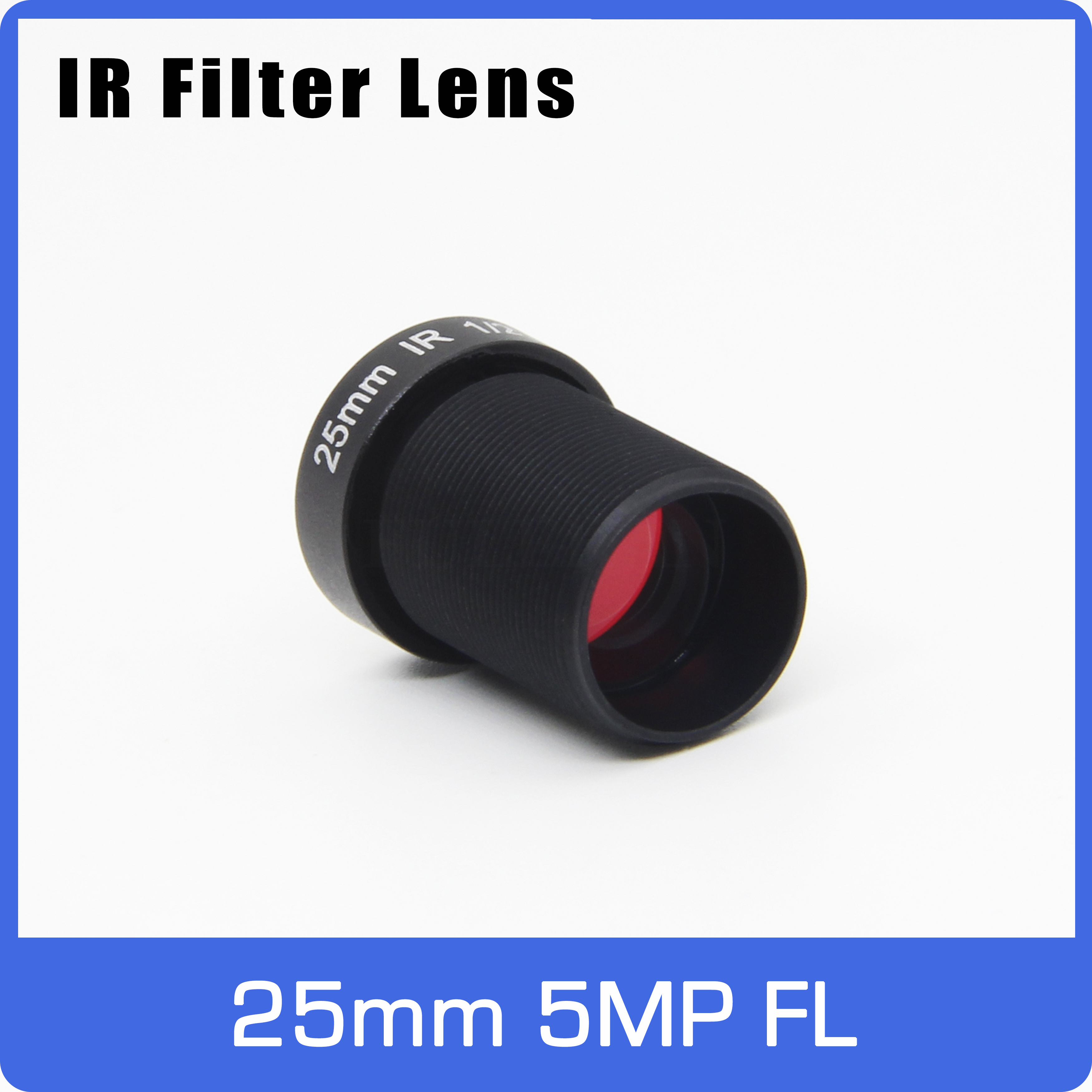 5Megapixel Action Camera Lens 25mm M12 IR Filter 1/2 Inch Long Distance View For EKEN SJCAM Xiaomi Yi Gopro Hero Sport Camera