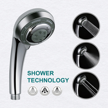 LOY 3 Function Adjustable Jetting Shower Filter High Pressure Water Saving Head Handheld Nozzle 21002