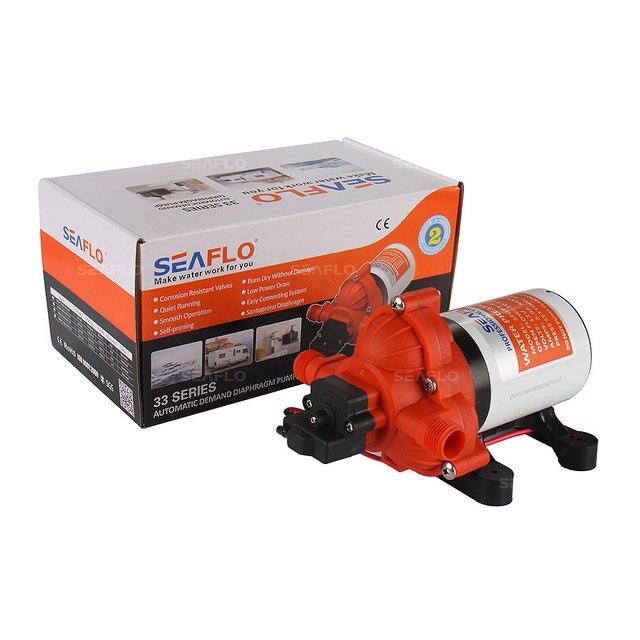 2018 Hot Selling Automatic demand Marine Water Diaphragm Pump 12V DC Seaflo