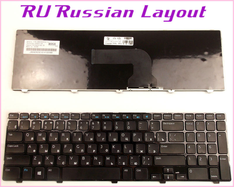 New Laptop US Keyboard For Dell Latitude 3540