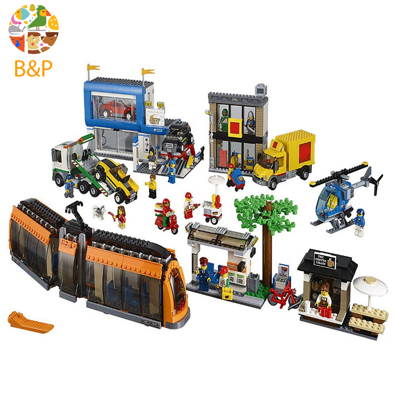 lepin Legoing 60097 1767pcs City series City Square Model Building Block Educational DIY Toy For Children Birthday Gift 02038 building blocks stick diy lepin toy plastic intelligence magic sticks toy creativity educational learningtoys for children gift
