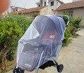 Frete grátis NOVO atacado New Crianças carrinho de Bebê Carrinho De Criança Carrinho De Bebé Mosquito Net Seguro Malha Branca Buggy Cobrir Branco