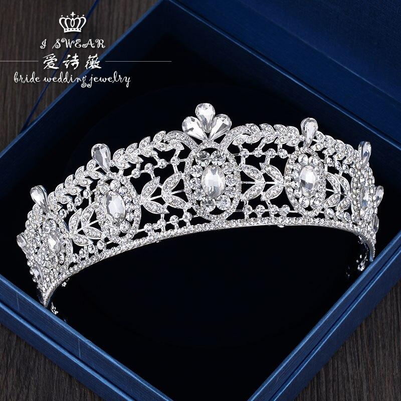 alloy crystal bride hair accessories queen crown princess tiara wedding hair accessories kawaii girl kids princess crown hair clip pin hairpin accessories for girls hair clips hairclip barrette tiara ornaments st 20