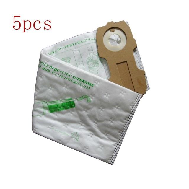 5 Pcs Lot Hoover Robot Vacuum Cleaner Parts Nonwoven Dust Bags For Vk118 Vk119 Vk120