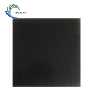 Image 1 - KINGROON 3D Drucker Ultrabase Erhitzt Bett Bauen Oberfläche Glas Platte 310*310*4mm/235*235*4mm/220*220*4mm 3D Drucker Teile Heißer bett