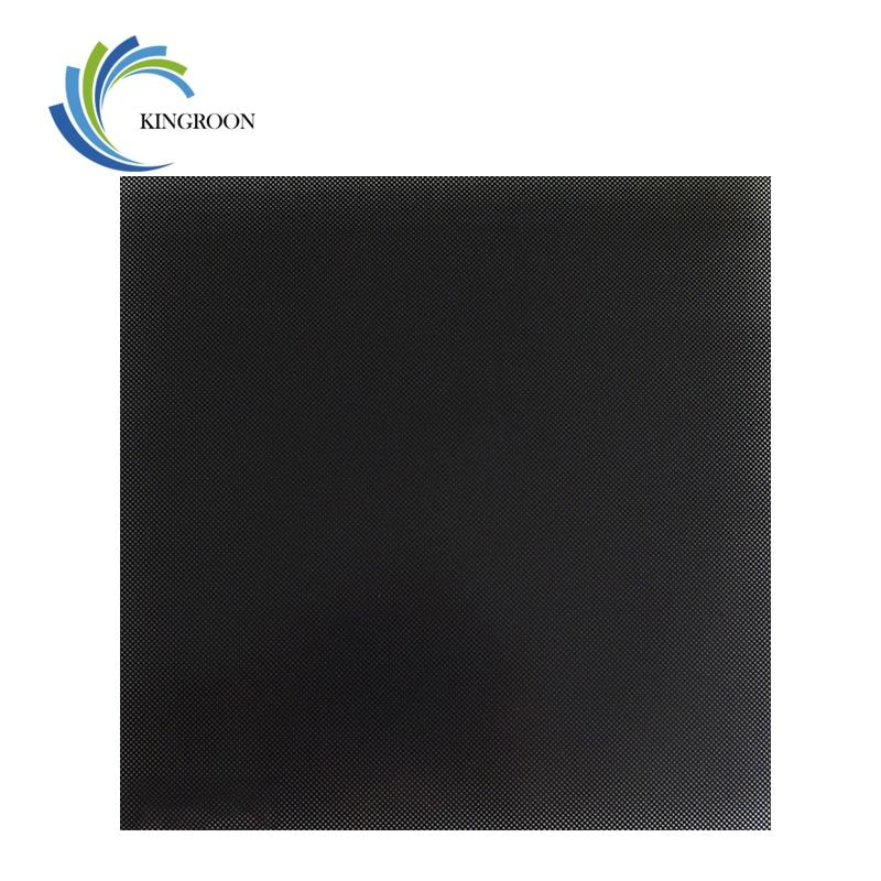 KINGROON 3D impresora Ultrabase cama caliente construir superficie placa de vidrio 310*310*4mm/235*235 * 4mm/220*220*4mm 3D piezas de la impresora cama caliente