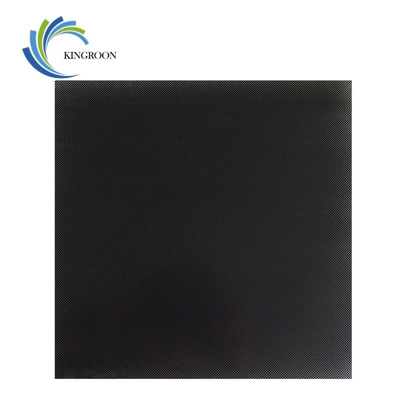 KINGROON 3D impresora ultrabasa cama calentada superficie de vidrio placa 310*310*4mm/235*235 * 4mm/220*220*4mm piezas de impresora 3D cama caliente