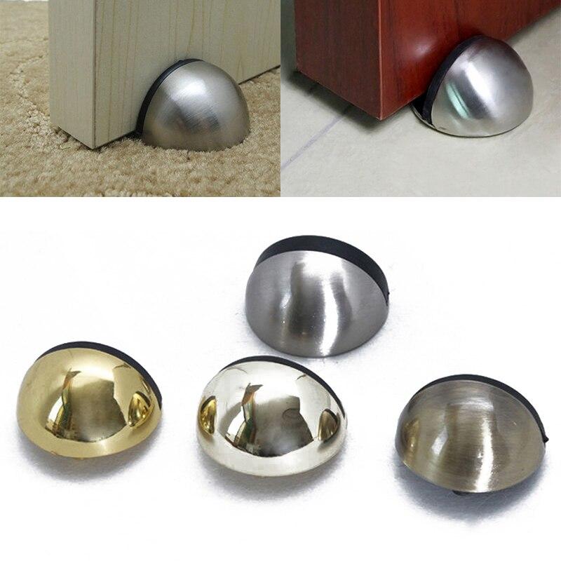 rubber door stopper holder jammer half round catch stopper wedges buffer holder wall floor mount door stops mayitr